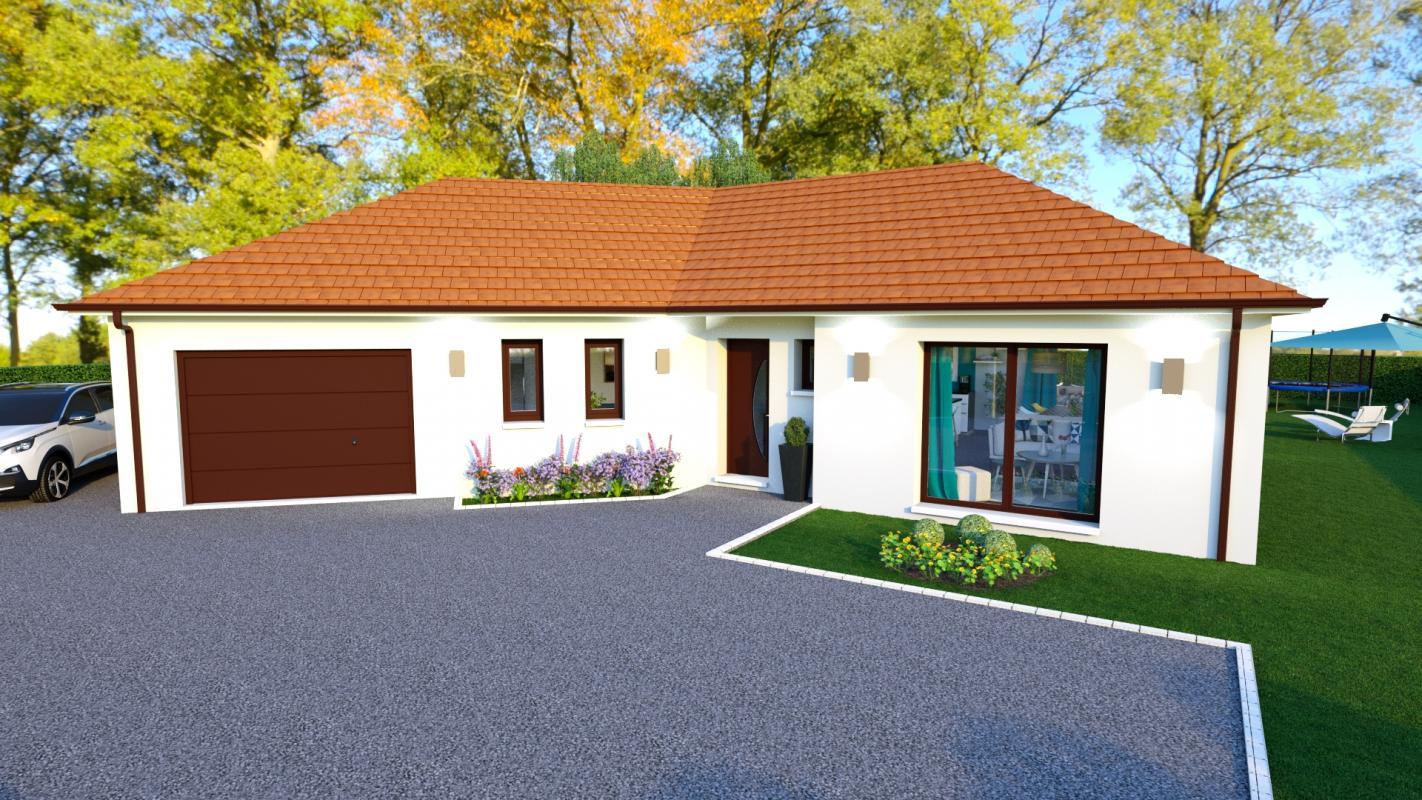 Maisons + Terrains du constructeur Maisons Arlogis Normandie • 101 m² • LE MESNIL REAUME
