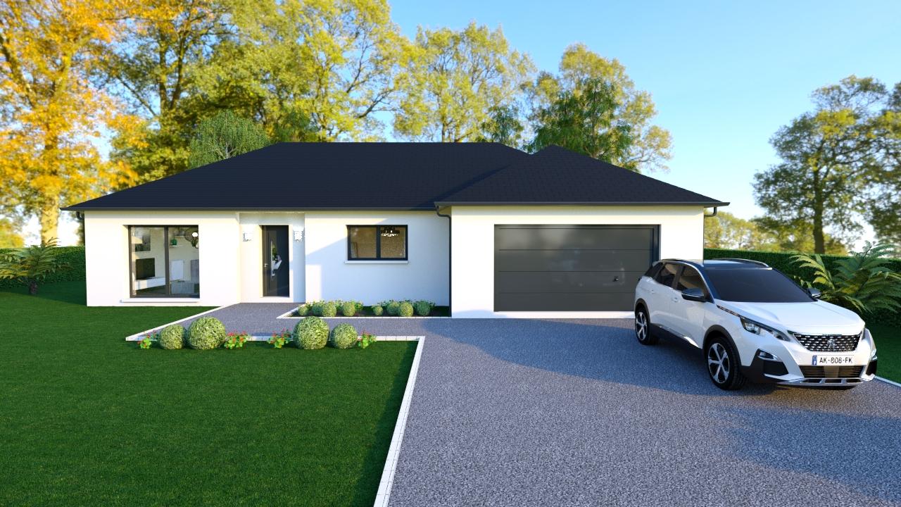 Maisons + Terrains du constructeur Maisons Arlogis Normandie • 100 m² • SAINT LEGER AUX BOIS