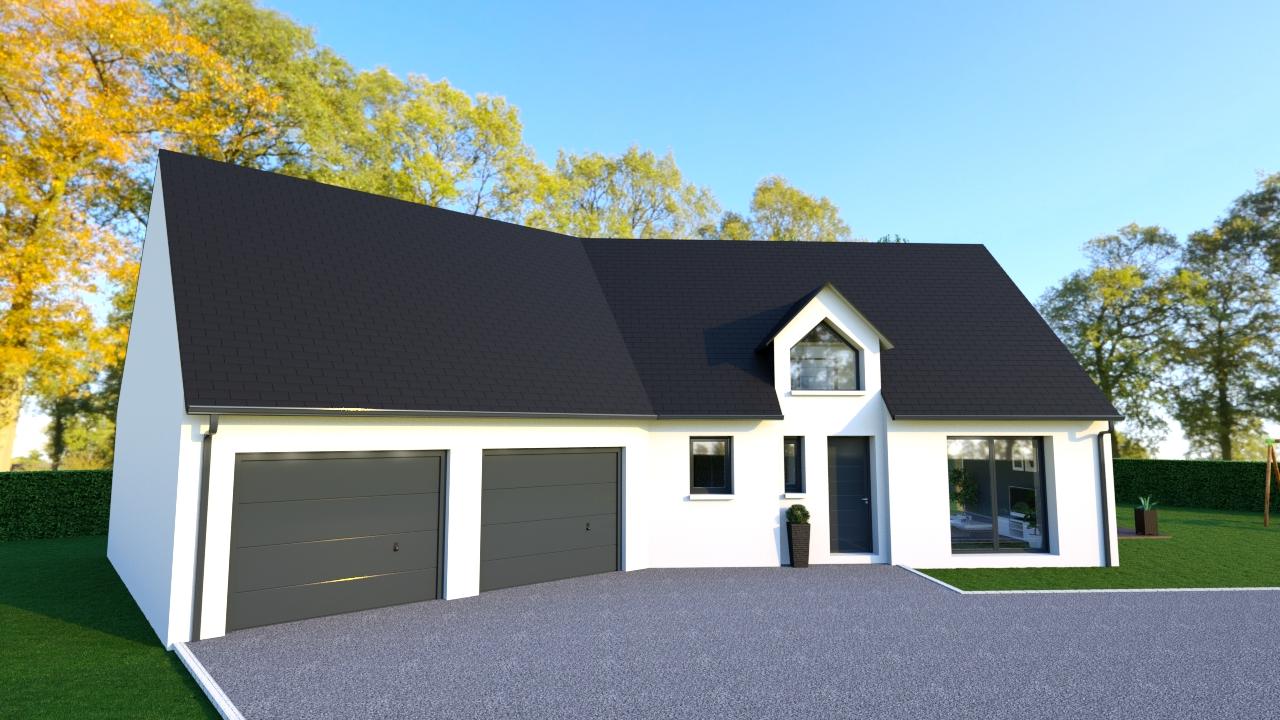 Maisons + Terrains du constructeur Maisons Arlogis Normandie • 140 m² • MONCHY SUR EU