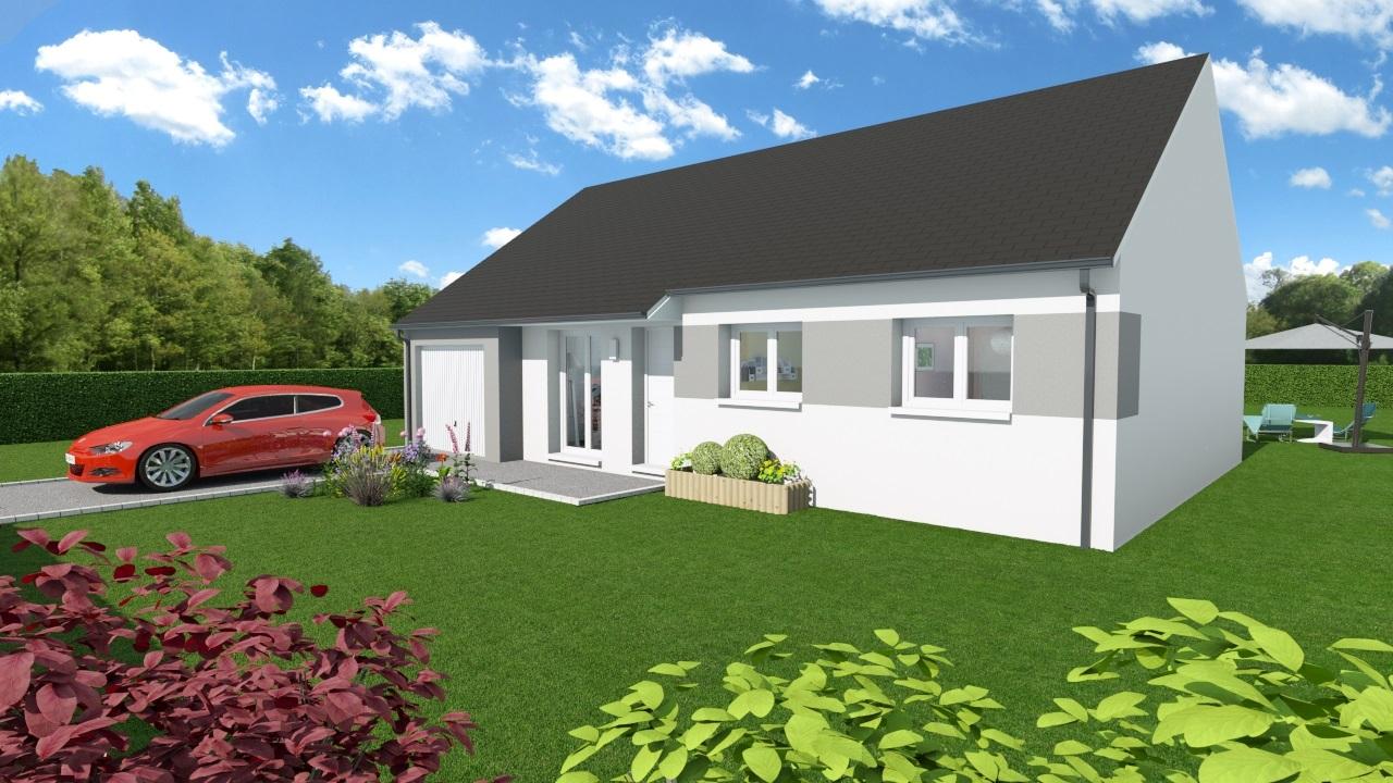 Maisons + Terrains du constructeur Maisons Arlogis Normandie • 80 m² • NEUFCHATEL EN BRAY