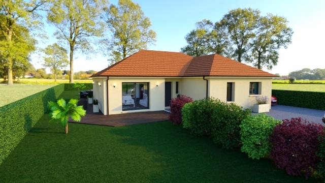 Maisons + Terrains du constructeur Maisons Arlogis Normandie • 125 m² • SAINT LEGER AUX BOIS