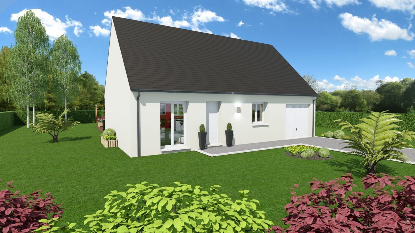 Maisons + Terrains du constructeur Maisons Arlogis Normandie • 95 m² • MELLEVILLE