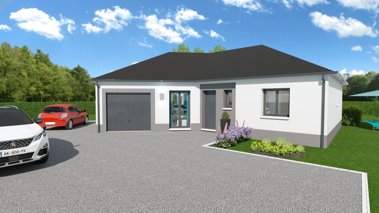 Maisons + Terrains du constructeur Maisons Arlogis Normandie • 86 m² • BIVILLE SUR MER