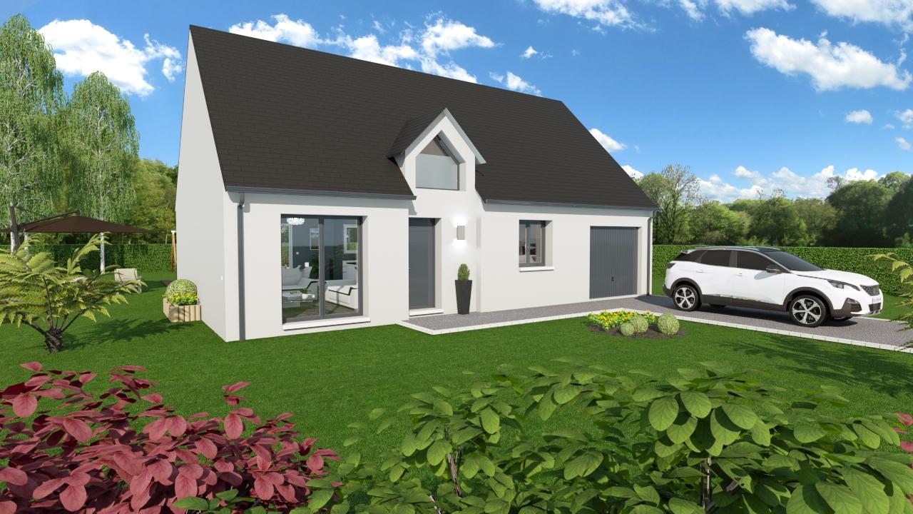 Maisons + Terrains du constructeur Maisons Arlogis Normandie • 138 m² • FLOCQUES