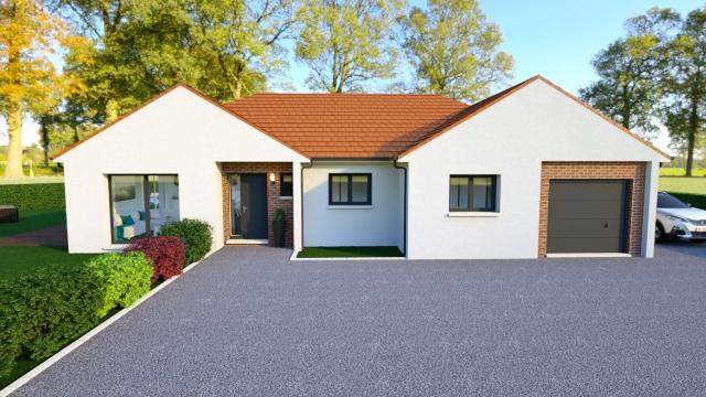 Maisons + Terrains du constructeur Maisons Arlogis Normandie • 125 m² • BAZINVAL