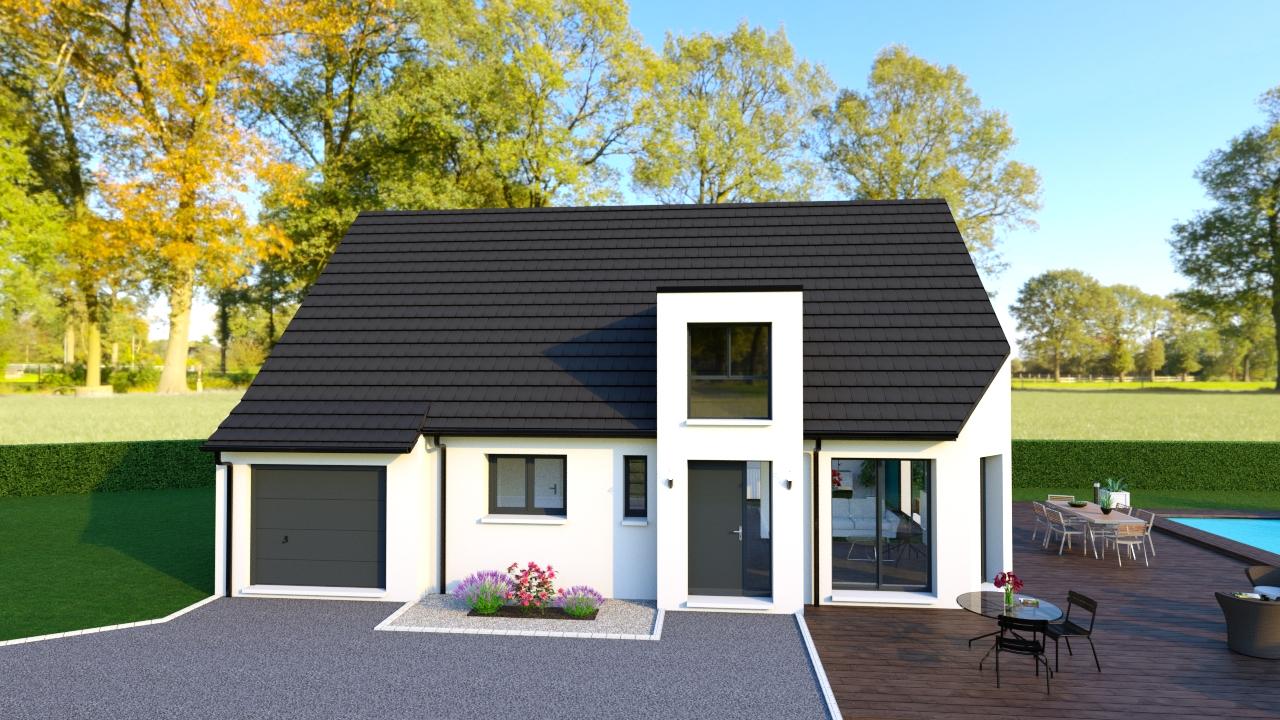 Maisons + Terrains du constructeur Maisons Arlogis Normandie • 142 m² • EU