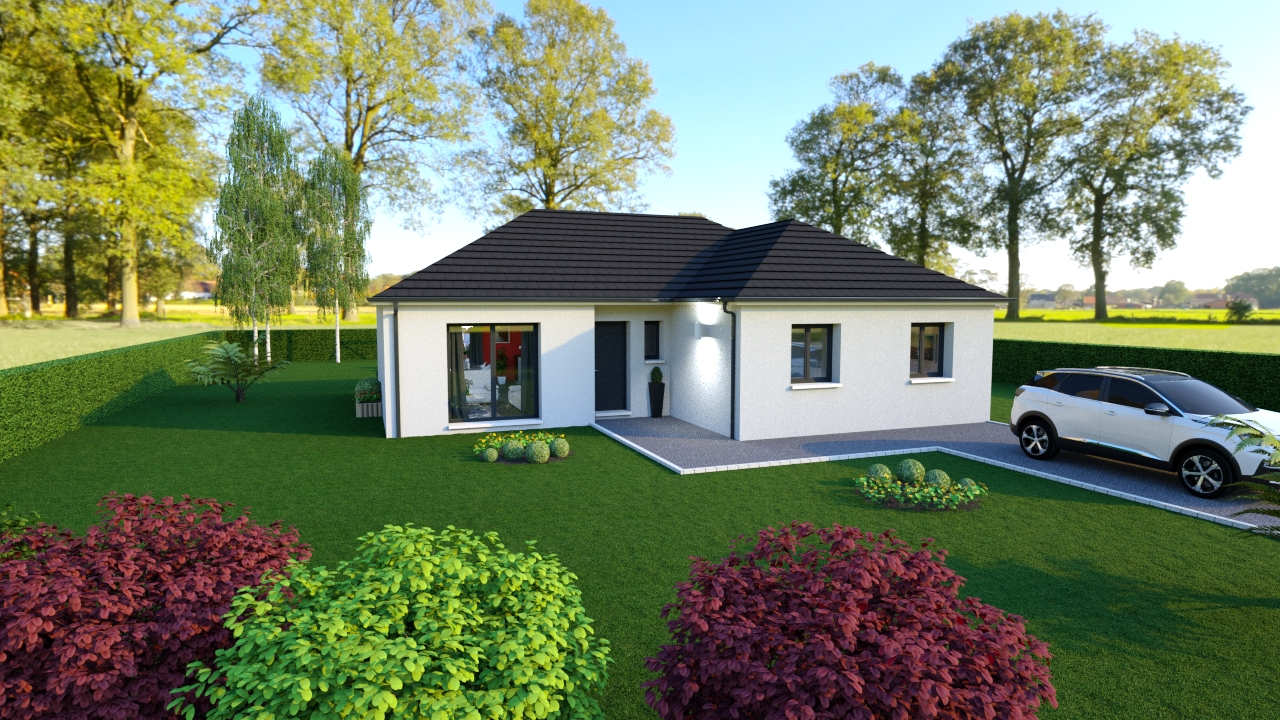 Maisons + Terrains du constructeur Maisons Arlogis Normandie • 103 m² • DIEPPE