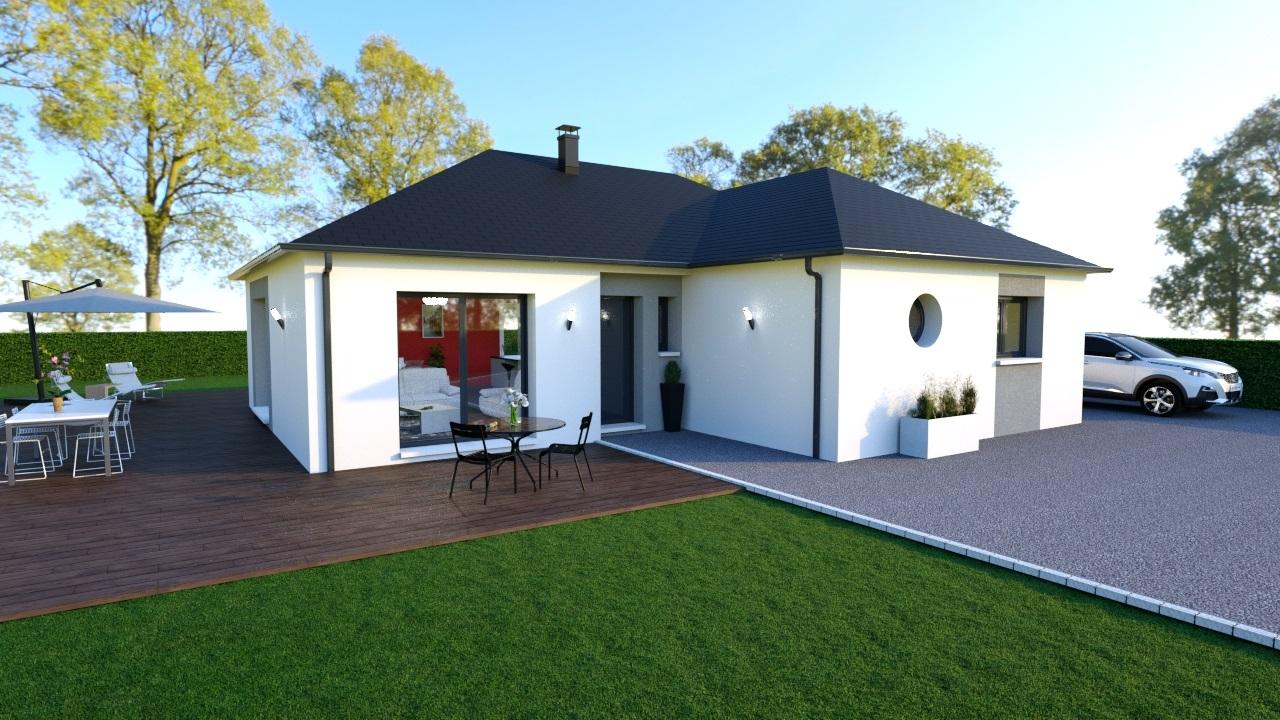 Maisons + Terrains du constructeur Maisons Arlogis Normandie • 110 m² • BERNEVAL LE GRAND