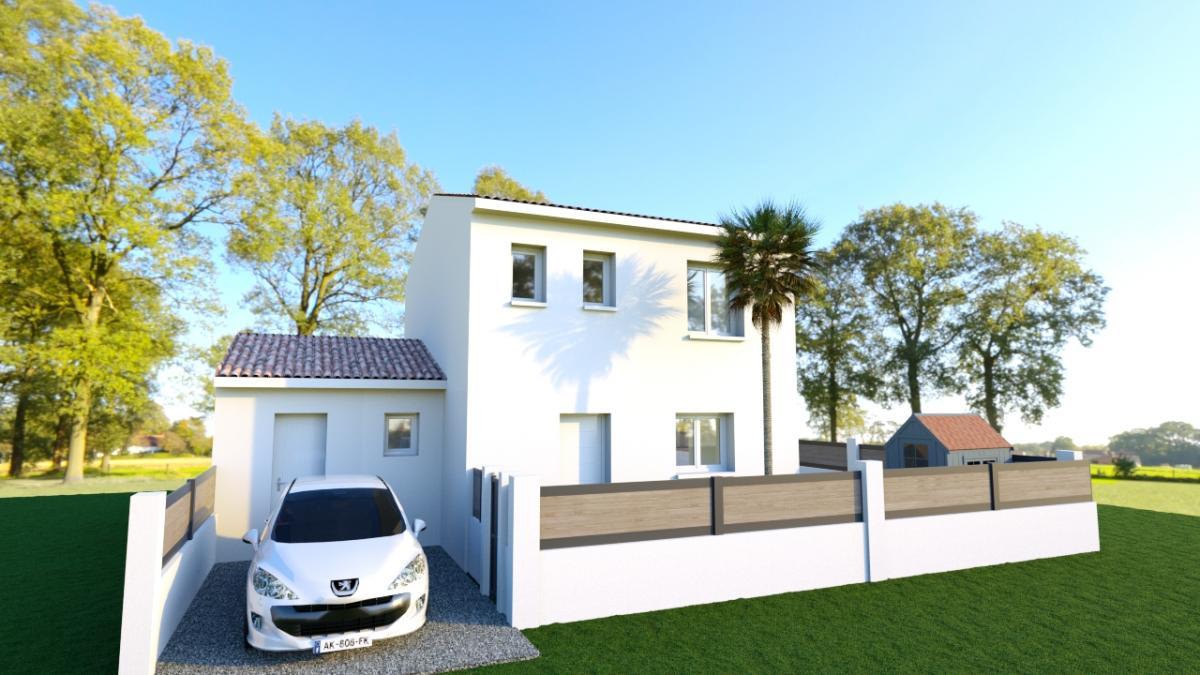 Maisons du constructeur MAISONS COTE SOLEIL 34 • 90 m² • POUZOLLES