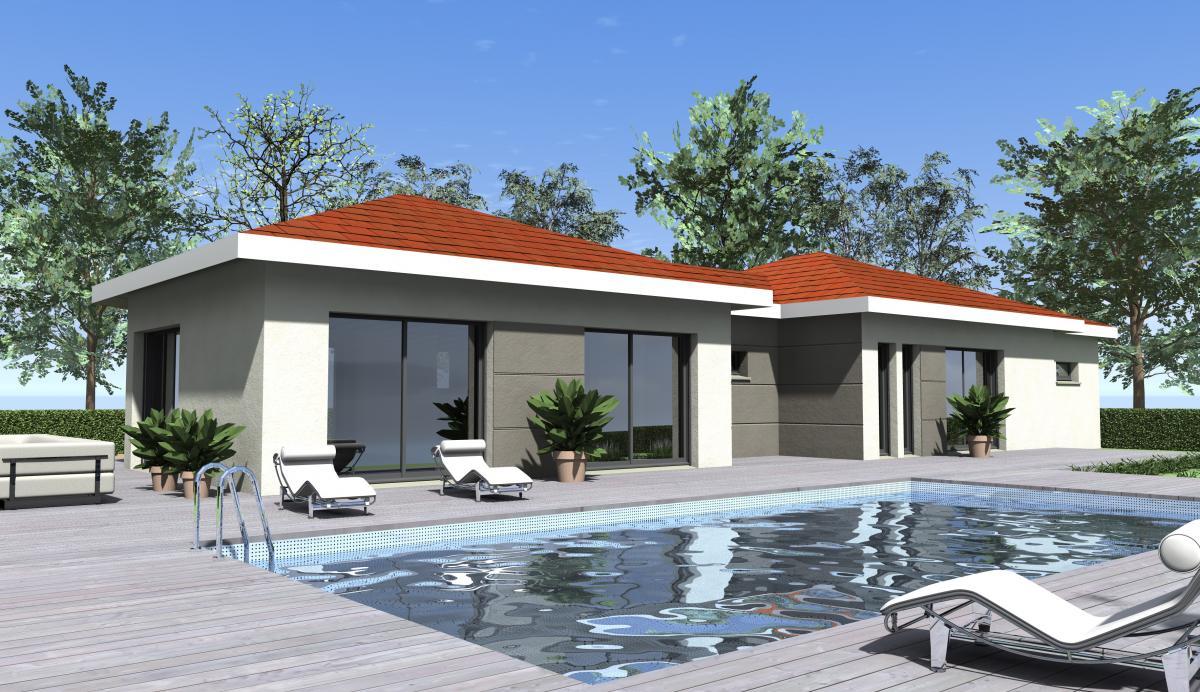 Maisons du constructeur MAISONS COTE SOLEIL 34 • 95 m² • ASPIRAN