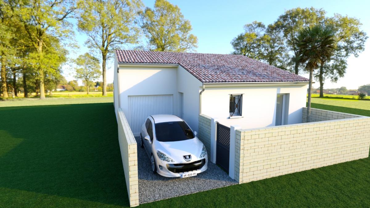 Maisons du constructeur MAISONS COTE SOLEIL 34 • 85 m² • SAINT GENIES DE FONTEDIT
