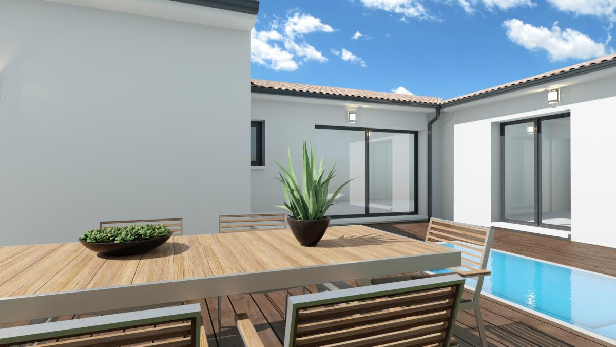 Maisons du constructeur MAISONS COTE SOLEIL 34 • 80 m² • LEZIGNAN LA CEBE