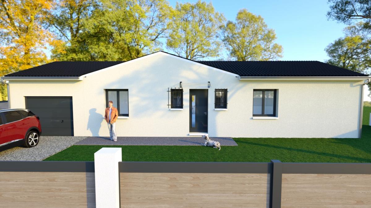 Maisons du constructeur MAISONS COTE SOLEIL 34 • 80 m² • LE POUGET