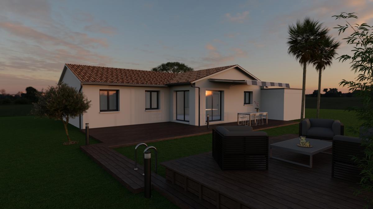 Maisons du constructeur MAISONS COTE SOLEIL 34 • 80 m² • BESSAN