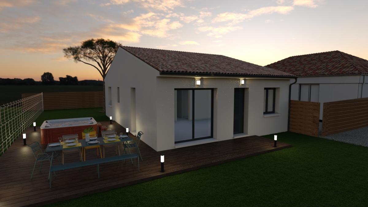 Maisons du constructeur MAISONS COTE SOLEIL 34 • 80 m² • LIGNAN SUR ORB