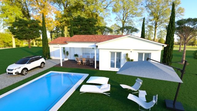 Maisons du constructeur MAISONS COTE SOLEIL 34 • 90 m² • VIAS