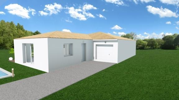 Maisons du constructeur MAISONS COTE SOLEIL 34 • 90 m² • MONTAGNAC