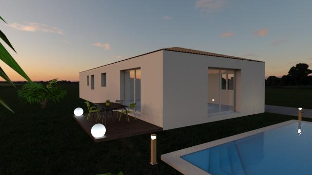 Maisons du constructeur MAISONS COTE SOLEIL 11 • 85 m² • SALLELES D'AUDE