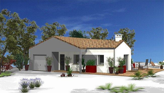 Maisons du constructeur MAISONS COTE SOLEIL 11 • 85 m² • ESCALES