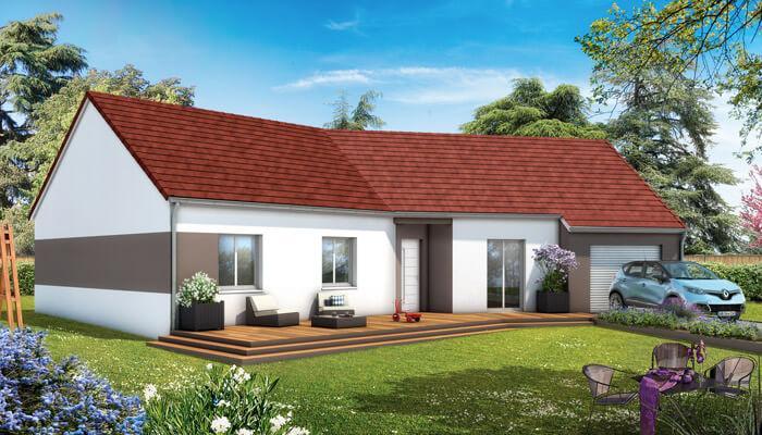 Maisons du constructeur MAISONS COTE SOLEIL 11 • 85 m² • PEPIEUX
