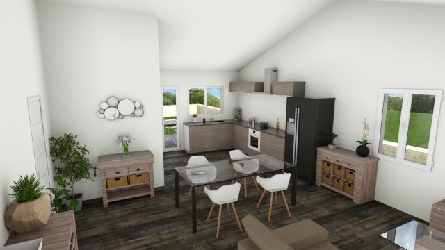 Maisons du constructeur MAISONS COTE SOLEIL 11 • 73 m² • PENNAUTIER