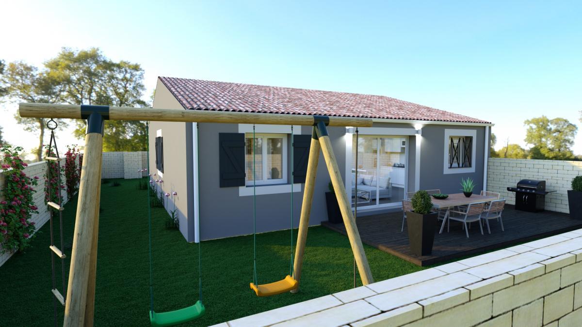 Maisons du constructeur MAISONS COTE SOLEIL 11 • 80 m² • SALLES D'AUDE