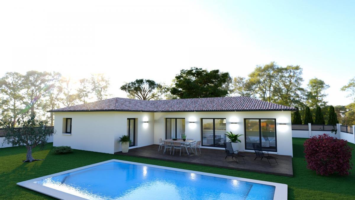 Maisons du constructeur MAISONS COTE SOLEIL 11 • 100 m² • OUVEILLAN