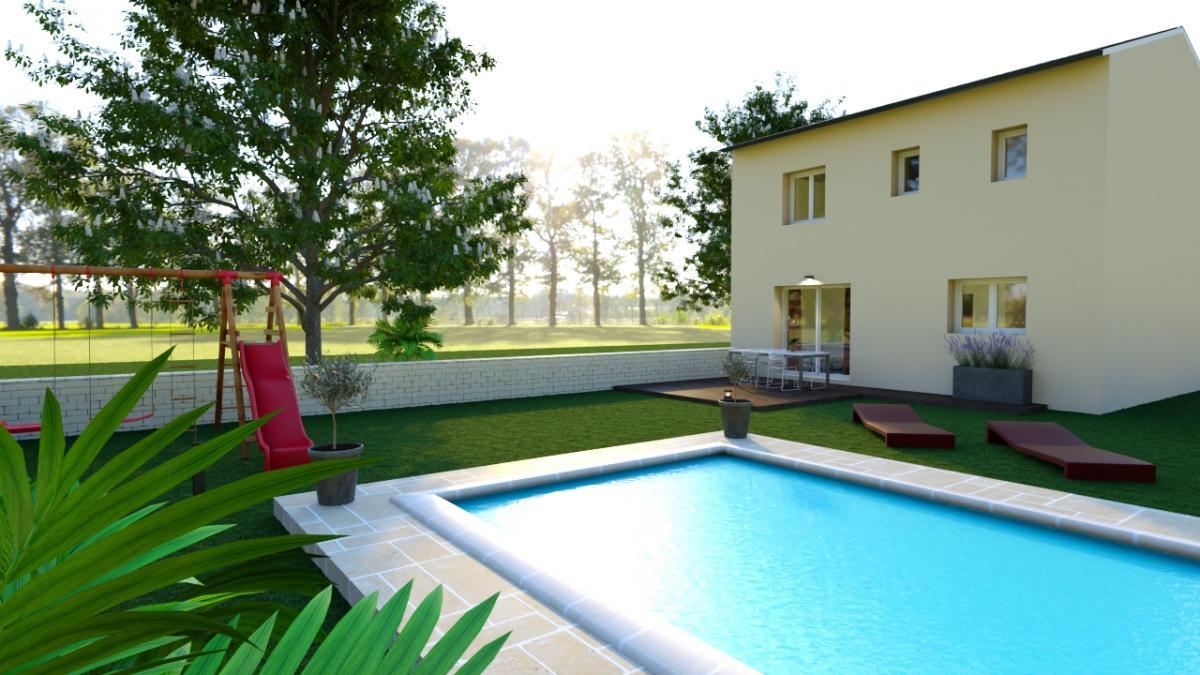 Maisons du constructeur MAISONS COTE SOLEIL 11 • 90 m² • SALLES D'AUDE