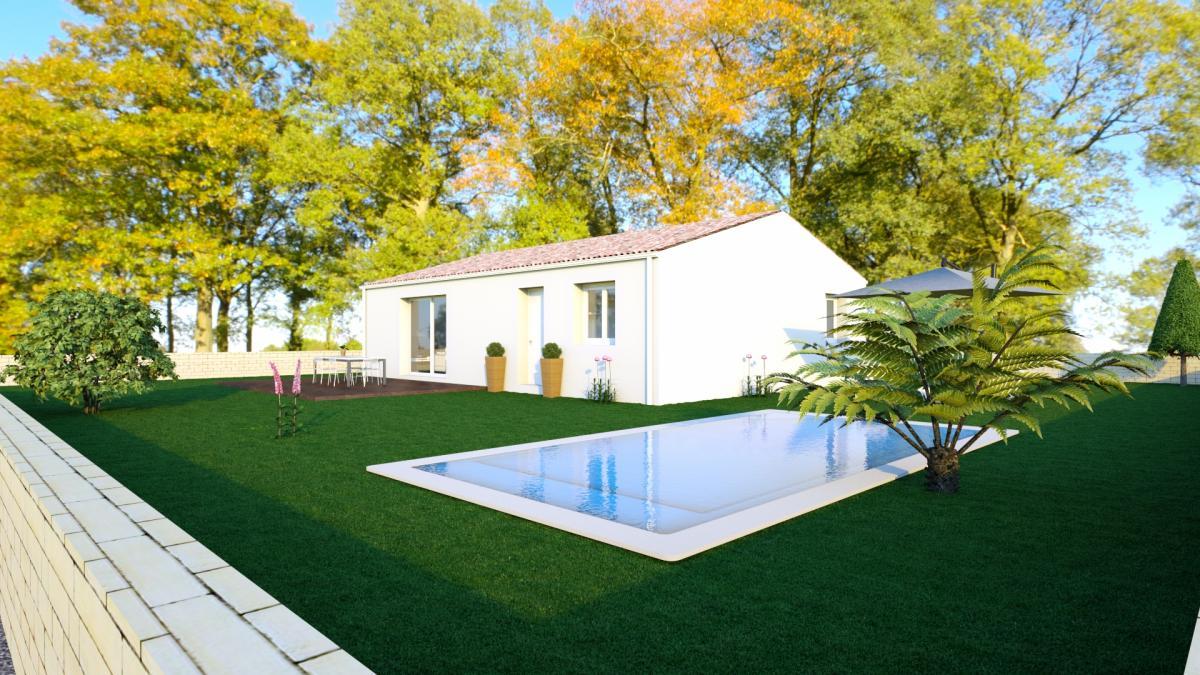 Maisons du constructeur MAISONS COTE SOLEIL 11 • 90 m² • PEPIEUX