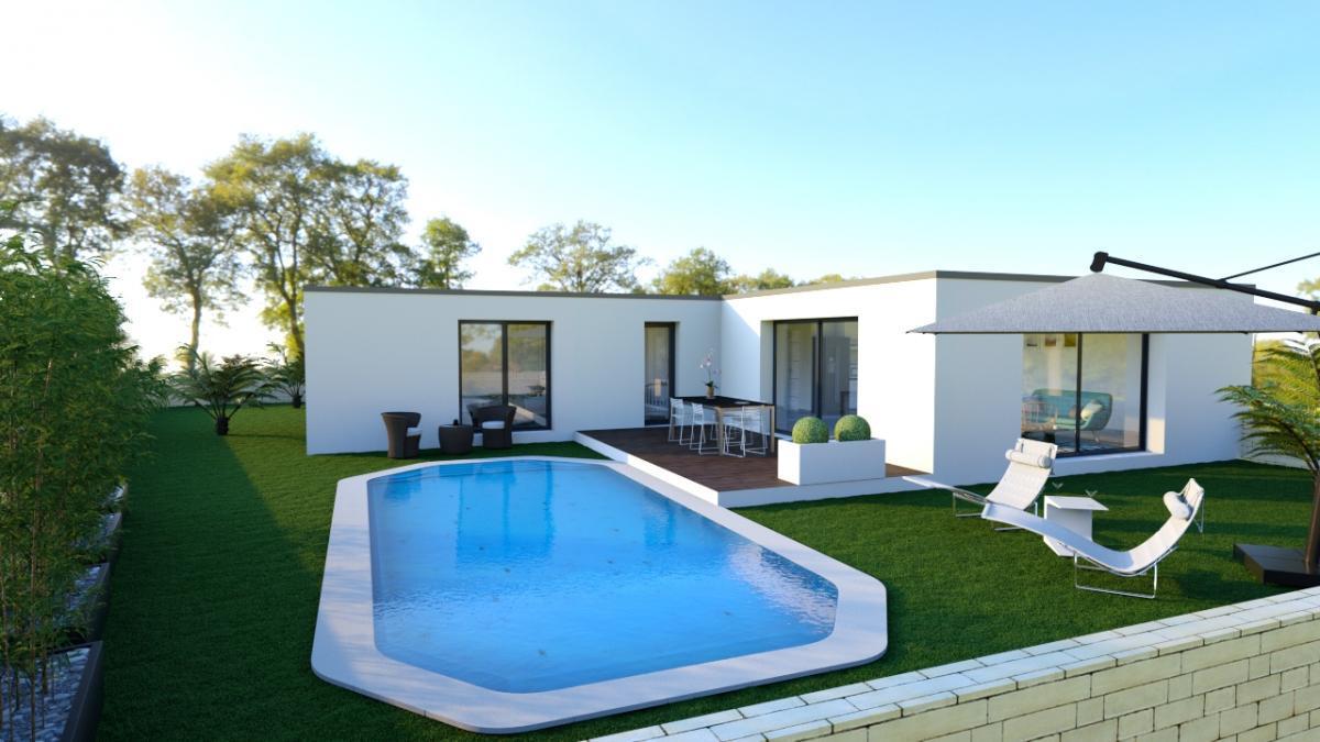 Maisons du constructeur MAISONS COTE SOLEIL 11 • 100 m² • SAINT ANDRE DE ROQUELONGUE