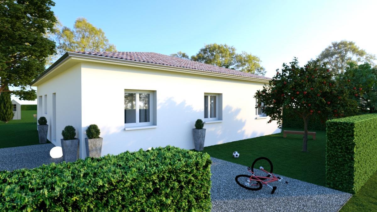 Terrains du constructeur MAISONS COTE SOLEIL 82 • 873 m² • MONTBARTIER