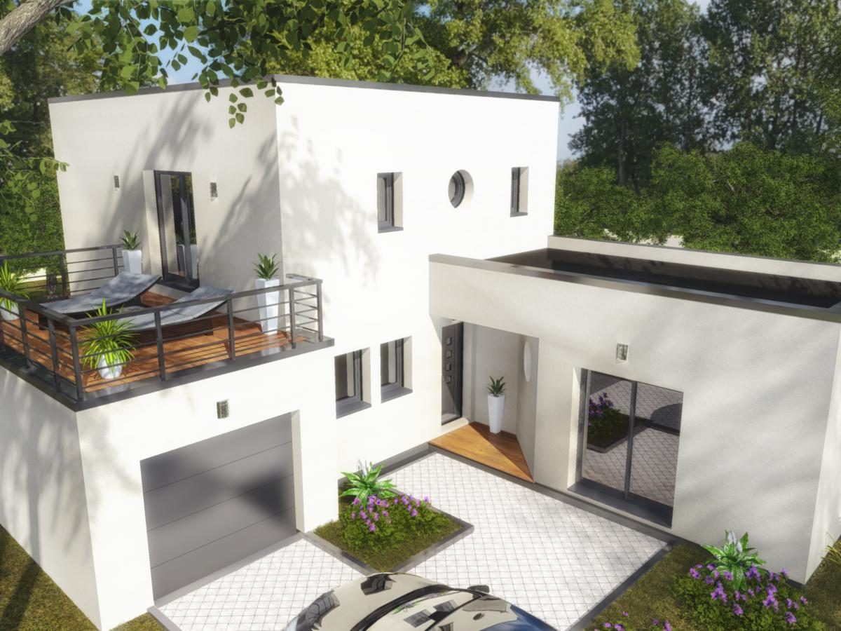 Maisons du constructeur MAISONS COTE SOLEIL 82 • 121 m² • ESCATALENS