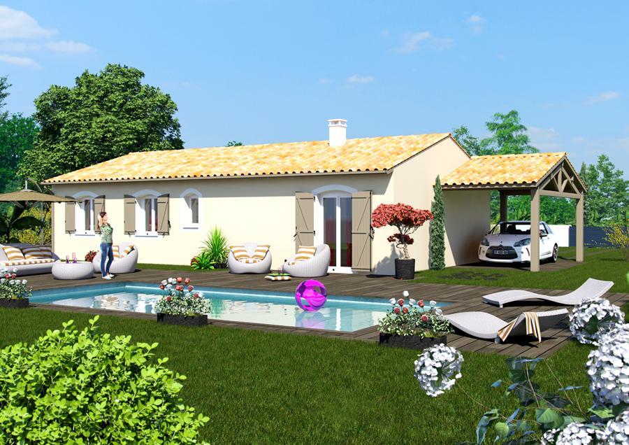 Maisons du constructeur ESQUISS BEAUZELLE • 120 m² • LARRA