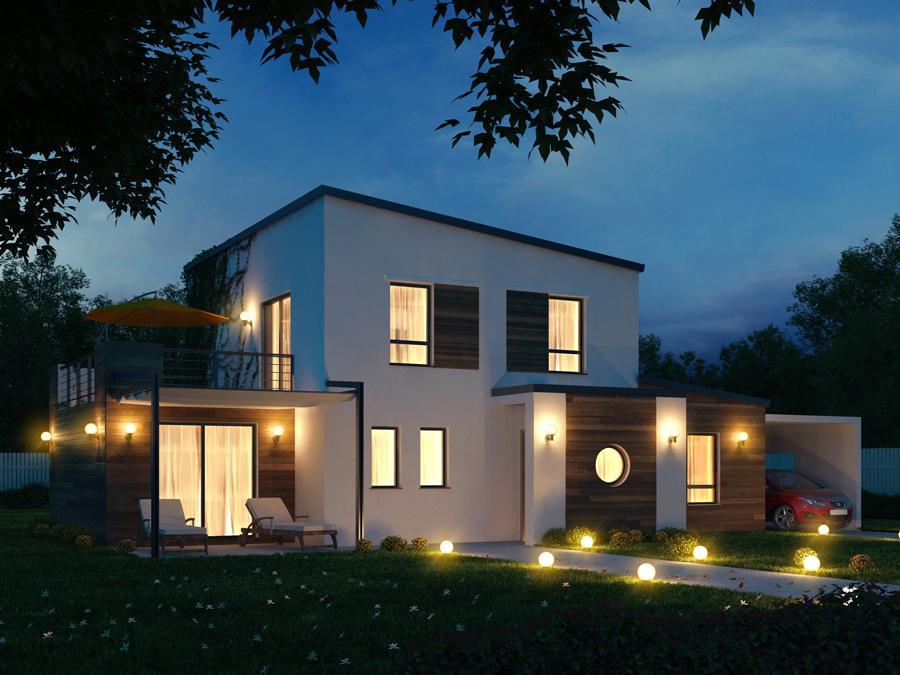 Maisons du constructeur ESQUISS BEAUZELLE • 110 m² • PLAISANCE DU TOUCH