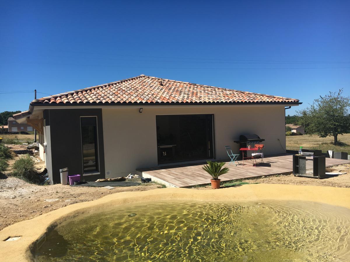 Maisons du constructeur ESQUISS BEAUZELLE • 90 m² • MONTAIGUT SUR SAVE