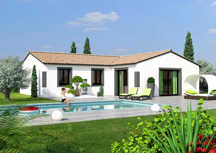 Maisons du constructeur ESQUISS BEAUZELLE • 110 m² • LEVIGNAC