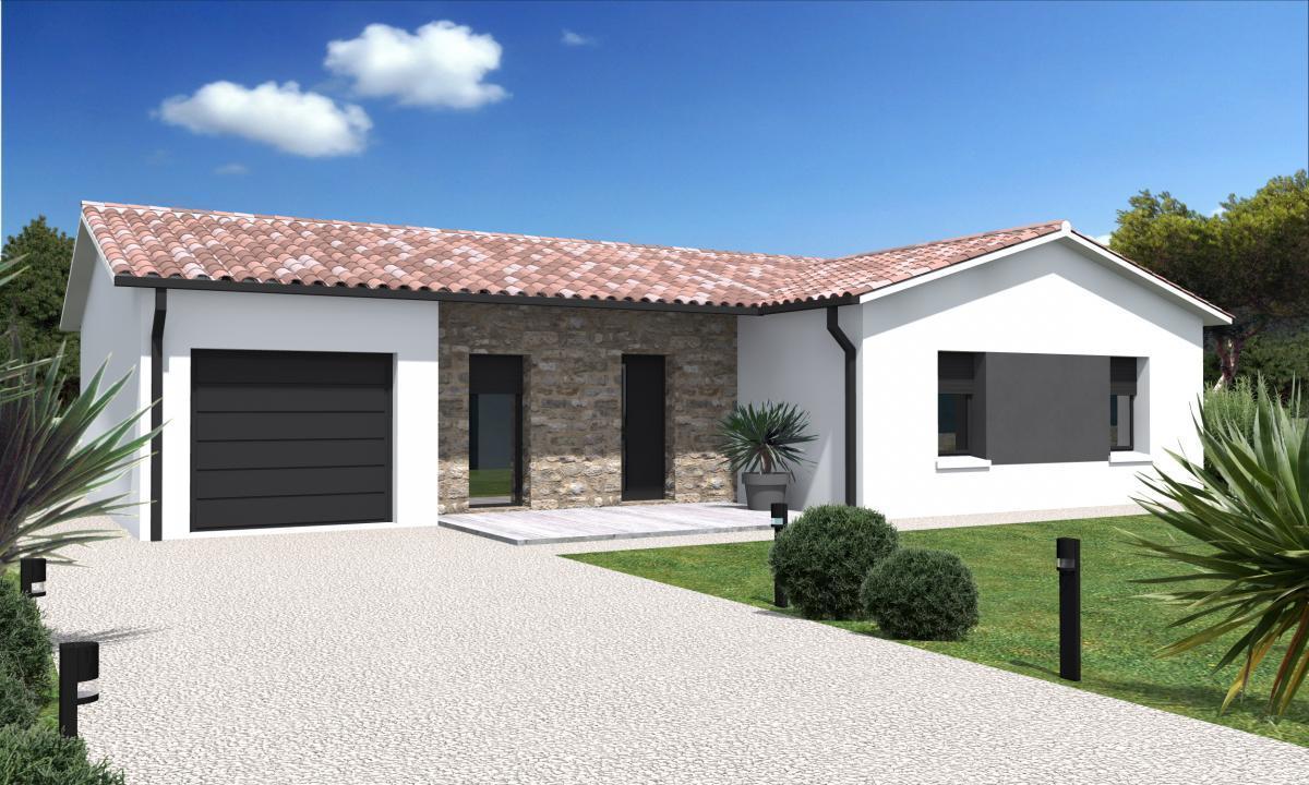 Maisons du constructeur ESQUISS BEAUZELLE • 110 m² • SAINT PAUL SUR SAVE