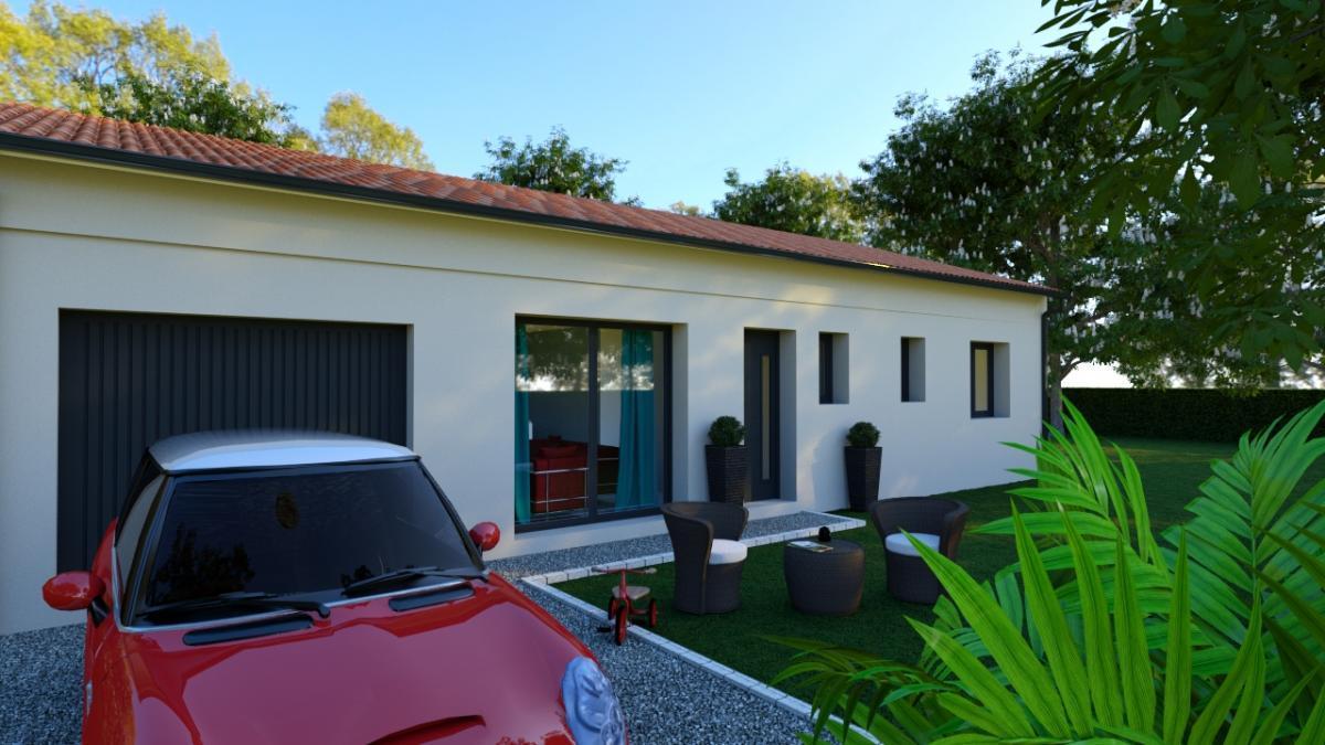Maisons du constructeur ESQUISS BEAUZELLE • 120 m² • SAINT PAUL SUR SAVE