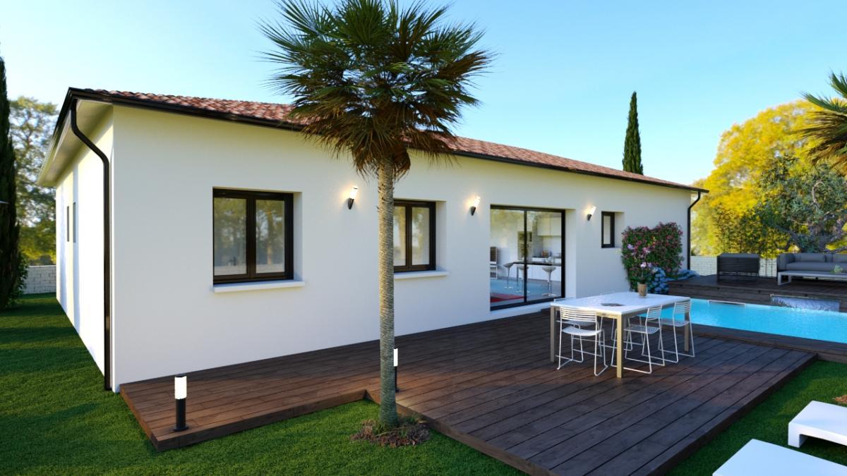 Maisons du constructeur ESQUISS BEAUZELLE • 90 m² • GRENADE