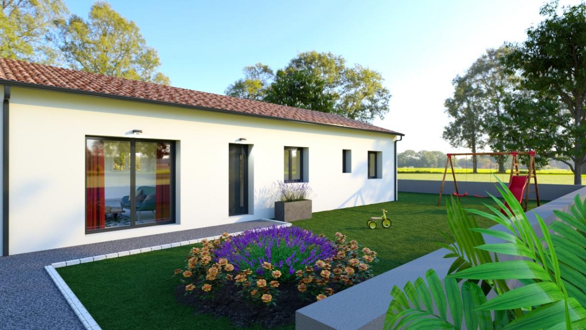Maisons du constructeur ESQUISS BEAUZELLE • 90 m² • MURET