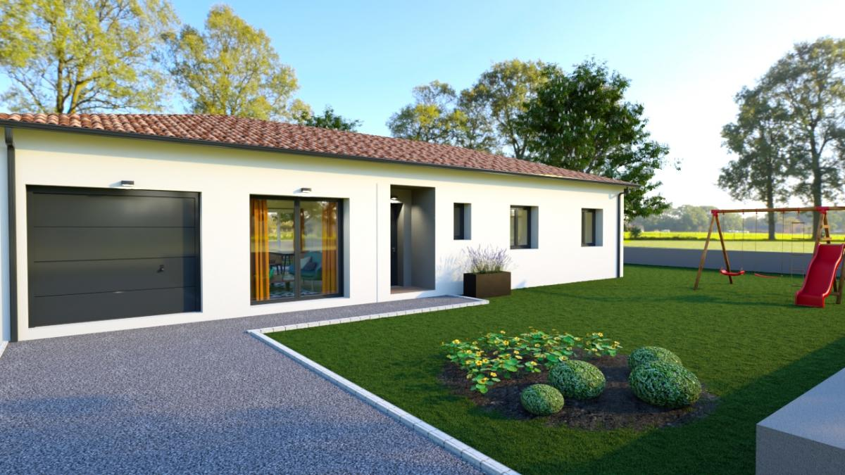 Maisons du constructeur ESQUISS BEAUZELLE • 90 m² • LABARTHE SUR LEZE