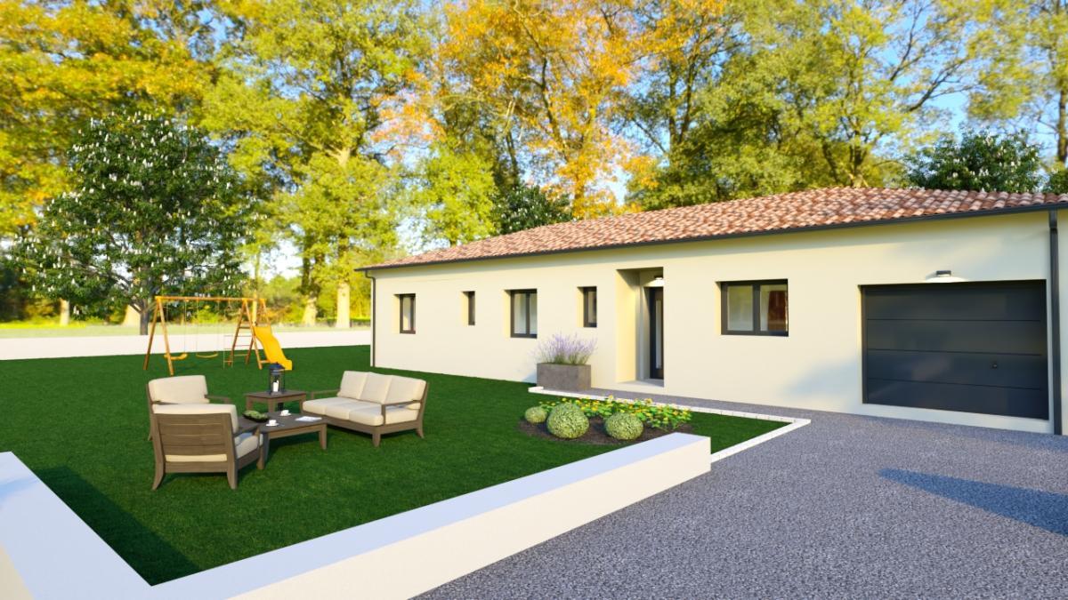 Maisons du constructeur ESQUISS BEAUZELLE • 91 m² • LAMASQUERE