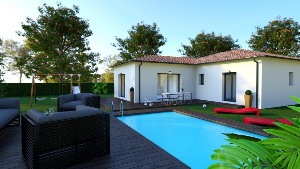 Maisons du constructeur ESQUISS BEAUZELLE • 100 m² • BRAX