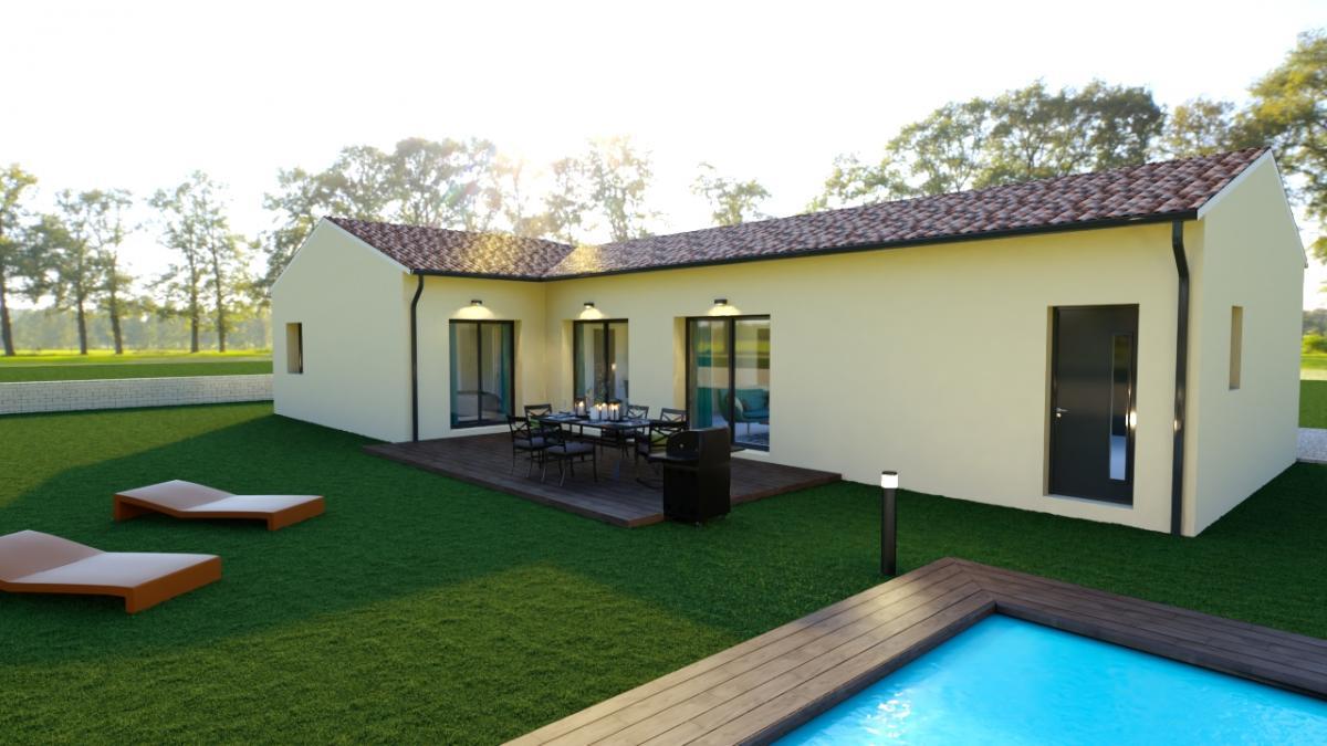 Maisons du constructeur ESQUISS BEAUZELLE • 115 m² • SAINTE FOY DE PEYROLIERES