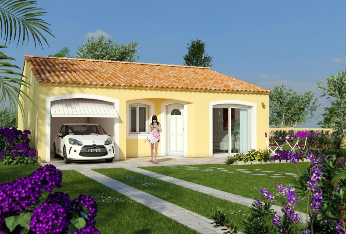 Maisons du constructeur MAISONS COTE SOLEIL 66 • 70 m² • PEYRESTORTES