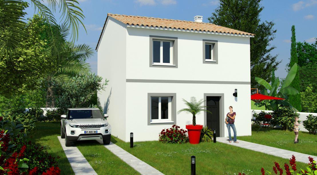 Maisons du constructeur MAISONS COTE SOLEIL 66 • 90 m² • SAINT GENIS DES FONTAINES