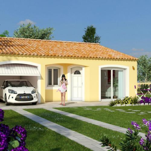 Maisons du constructeur MAISONS COTE SOLEIL 66 • 90 m² • NEFIACH
