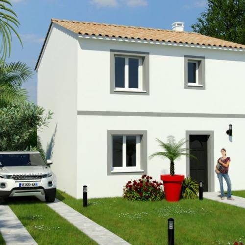 Maisons du constructeur MAISONS COTE SOLEIL 66 • 90 m² • PEZILLA LA RIVIERE