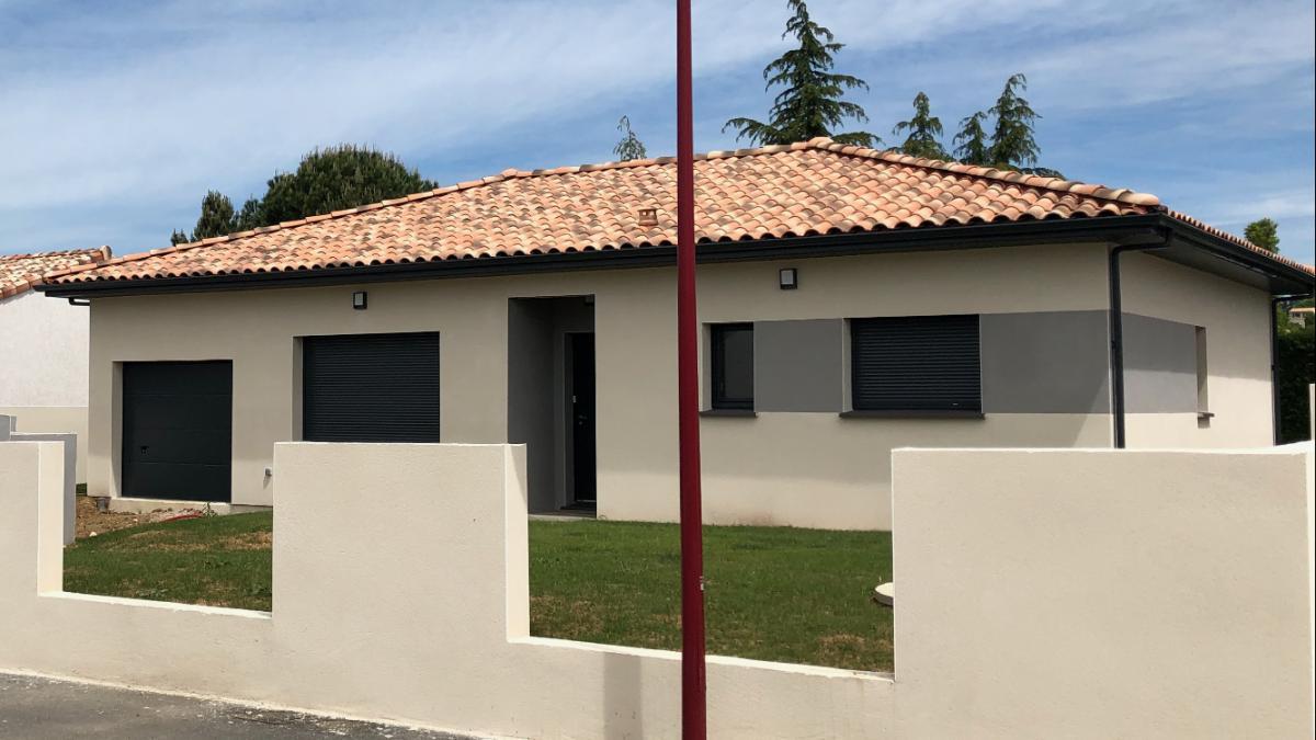 Maisons du constructeur ESQUISS AUCAMVILLE • 90 m² • CASTELNAU D'ESTRETEFONDS