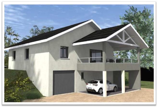 Maisons du constructeur COTRIN 74 • 133 m² • ONNION